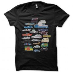 tee shirt Pop Culture voiture  sublimation