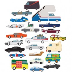 tee shirt Pop Culture Cars...
