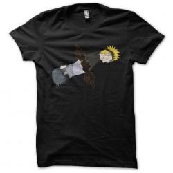 t-shirt naruto sasuke black...