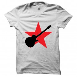 tee shirt star Guitare  sublimation