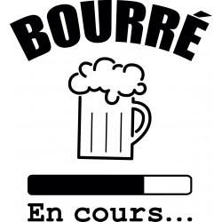 T-shirt Bourré in white course sublimation