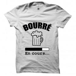 T-shirt Bourré in white...