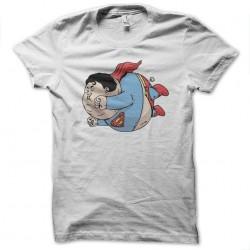 super fat white sublimation tee shirt