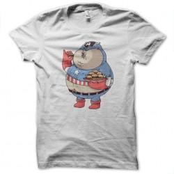 tee shirt Captain americain version fat  sublimation