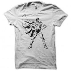 t-shirt superman comics version white sublimation
