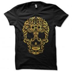 t-shirt ornamental skull black sublimation