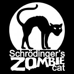 tee shirt schrodinger zombie cat  sublimation