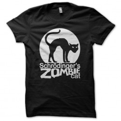 t-shirt schrodinger zombie...