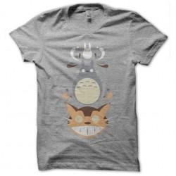 tee shirt totoro gang gris...