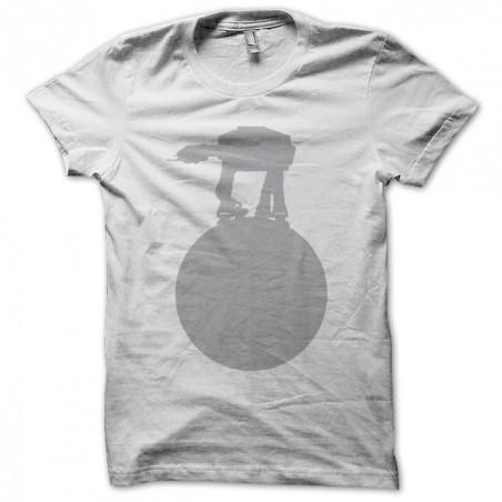 Tee shirt Starwars Quadripode argent sur  sublimation