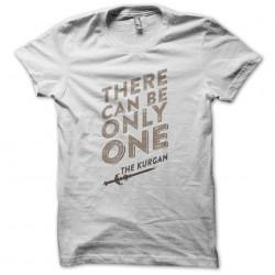 Highlander Quote T-Shirt White Sublimation
