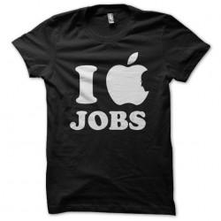 tee shirt I love jobs...