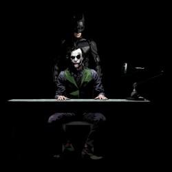 batman t-shirt and the black joker sublimation