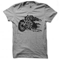 gray sublimation t-shirt Devil biker
