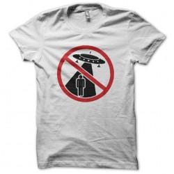 Tee shirt OVNI abduction interdite  sublimation