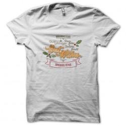 Christmas white sublimation t-shirt