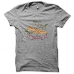 Christmas gray sublimation t-shirt