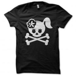 tee shirt lady skull...