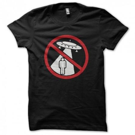 OVNI abduction prohibited black sublimation t-shirt