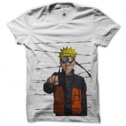 t-shirt naruto shippuden blood prison white sublimation