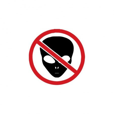 Roswell Etra Terrestre T-Shirt prohibited white sublimation