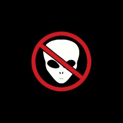 Roswell Etra Terrestre T-Shirt prohibited black sublimation