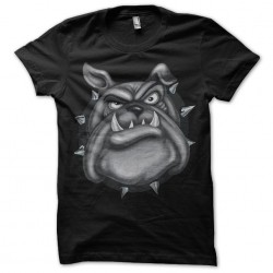 t-shirt bulldog black...
