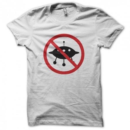 OVNI prohibited white sublimation t-shirt