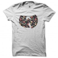 tee shirt wu tang clan logo fleur tendance  sublimation