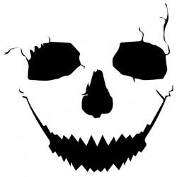 tee shirt crack skull white...