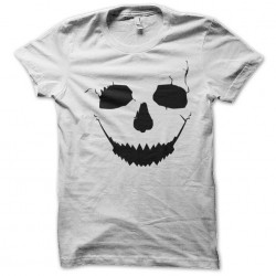 tee shirt crack skull  sublimation