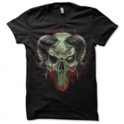 tee shirt horned skull...