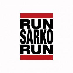 Run Sarko Run Humor T-Shirt...