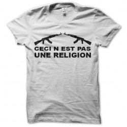 tee shirt this is not a white sublimation religion