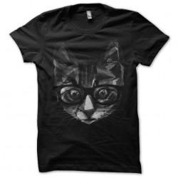 cat shirt 3D version black...