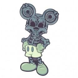 tee shirt bone mickey mouse...