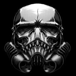 tee shirt skull trooper  sublimation