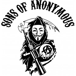 tee shirt sons of anonymous parodie SOA  sublimation