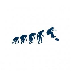 shirt skater evolution white sublimation