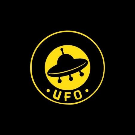 T-shirt OVNI UFO label black sublimation