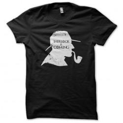 t-shirt Sherlock is Coming...
