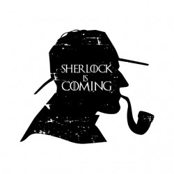 tee shirt Sherlock is...