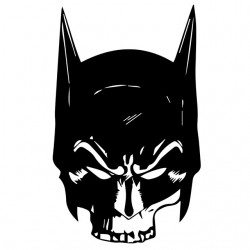 batman white sublimation...