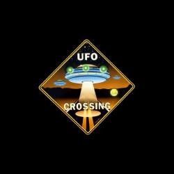 Tee shirt UFO Crossing  sublimation