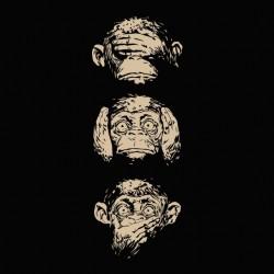 Monkey attitudes black...