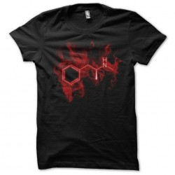tee shirt red meth  sublimation