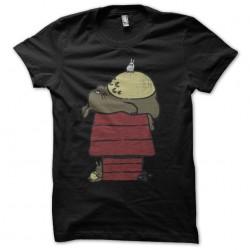 t-shirt totoro in full nap...