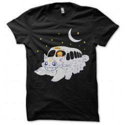t-shirt Cat Bus Totoro...