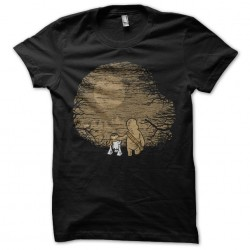 t-shirt wookie and R2D2 in...