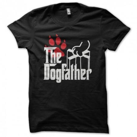 Dogfather parody Godfather black sublimation t-shirt